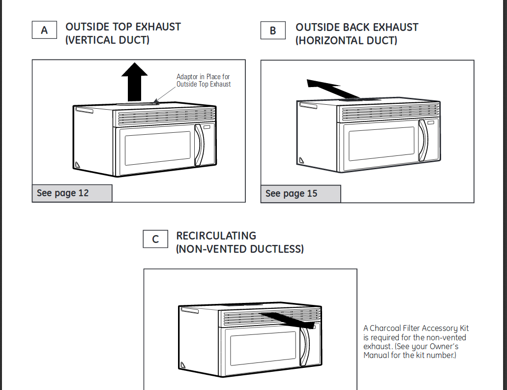 how to clean microwave exhaust vent
