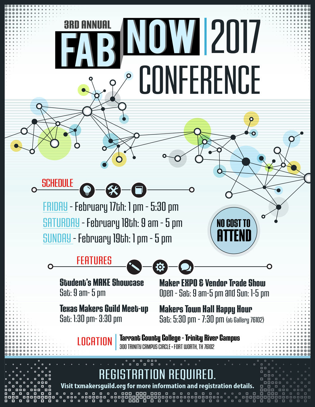 Free maker event this weekend starting today in ft worth fabnow fabnowconference2017flyerwebg1020x1320 275 kb registration thecheapjerseys Image collections