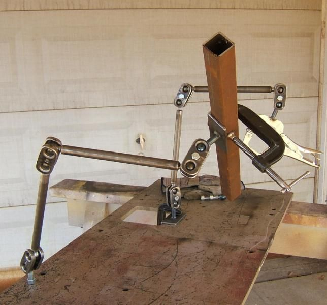 Modern Welding Table That Provides Fixturing Metal Shop